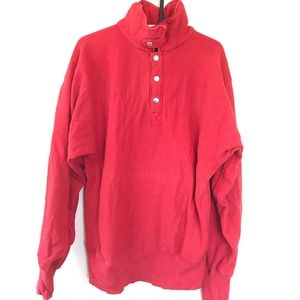 Champion Shirts - Vintage Champion sweatshirt red cool style